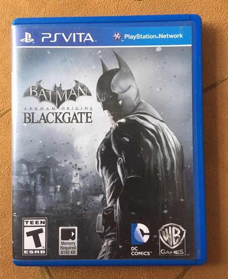 Batman Arkhan Origins Blackgate Ps Vita - Usado