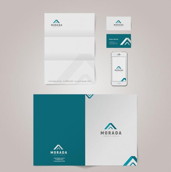 Criação Logotipo Logomarca + Papelaria Completa Profissional