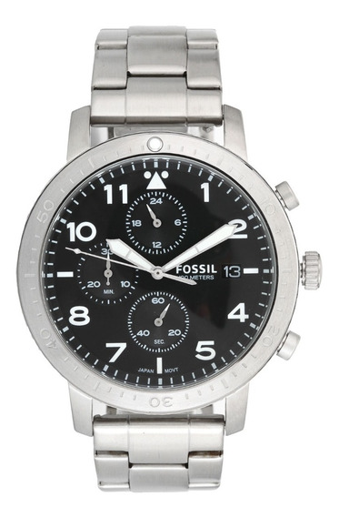 Relógio Masculino Fossil Prateado Analógico Ch3082/1pn Top