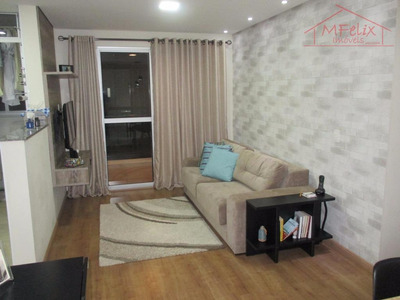 Apartamento 2 Dorms, 60m² No Picanço Em Guarulhos. - Ap0739