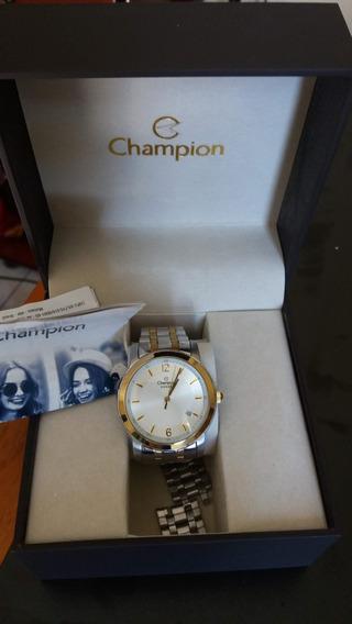 Relógio Champion Feminino Prata Aço
