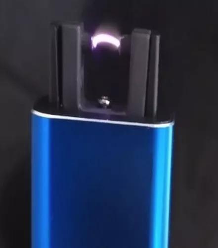 Isqueiro De Plasma Recarregável-usb-aprova De Vento C/ Trava