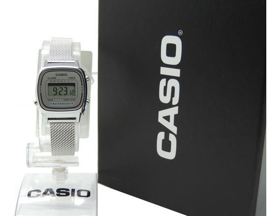 Relógio Casio Vintage Mini La670wem-7df - Nf - Envios Full