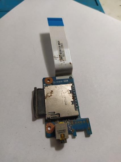 Placa De Áudio P2 Notebook Lenovo G485