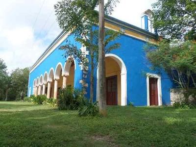 Venta De Histórica Hacienda De 10 Hectáreas En Yucatán