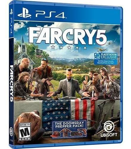 Jogo Far Cry 5 Playstation 4 Ps4 Lacrado Portugues
