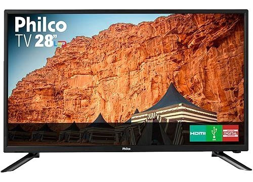 Tv Led 28 Philco Ph28n91d Hd Conversor Digital 1 Usb 1 Hdmi