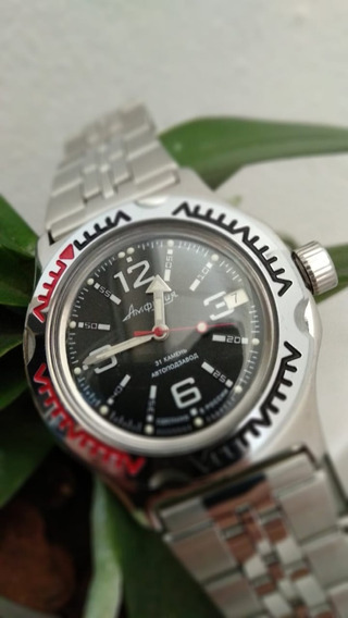 Relógio Masculino Russo Vostok Automatico Original + Brinde