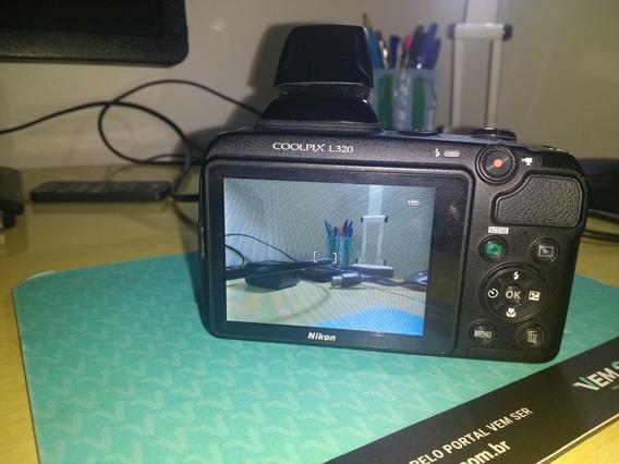 Câmera Nikon L320 Semi Profissional