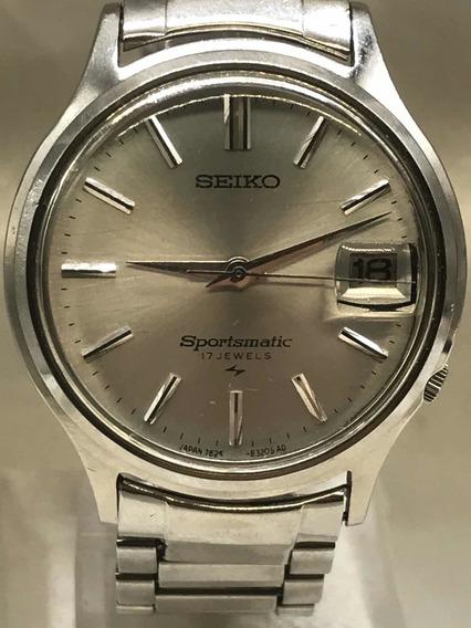 Relógio Seiko Sportsmatic 7625 17 J De 11/1967 Relogiodovovô