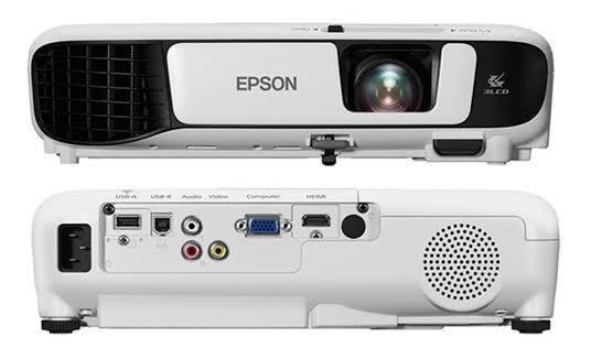 Projetor Epson Powerlite S41+ Svga 3300 Lumens