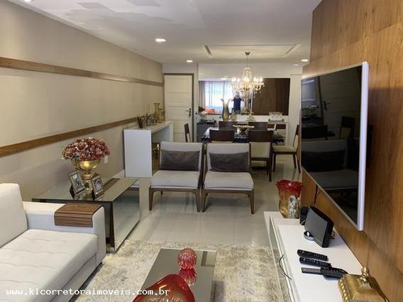 Apartamento Para Venda Em Natal, Lagoa Nova, 3 Dormitórios, 1 Suíte, 3 Banheiros, 2 Vagas - Ka 0914_2-974982