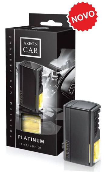 Areon Aromatizante Car Painel Black Box Platinum 8ml