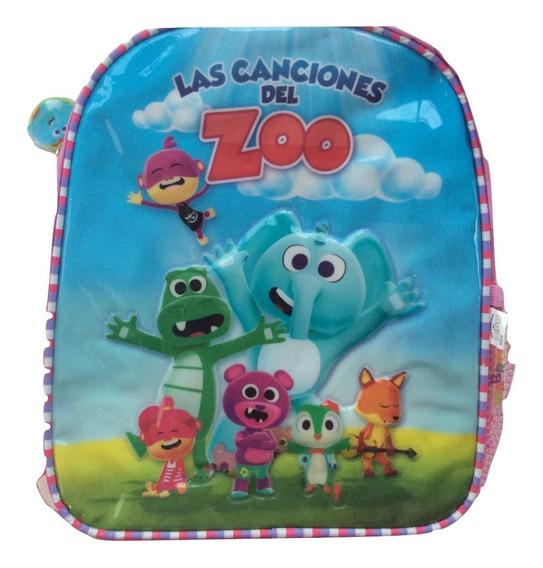 Mochila Canciones Zoo Granja De Zenon 11 Pulgadas Jardin