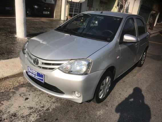 Toyota Etios 1.3 X Completo + Multimídia + Câmera De Ré