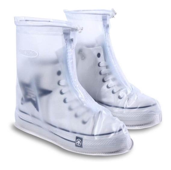 Cubre Zapato Para Lluvia Impermeable Con Cierre