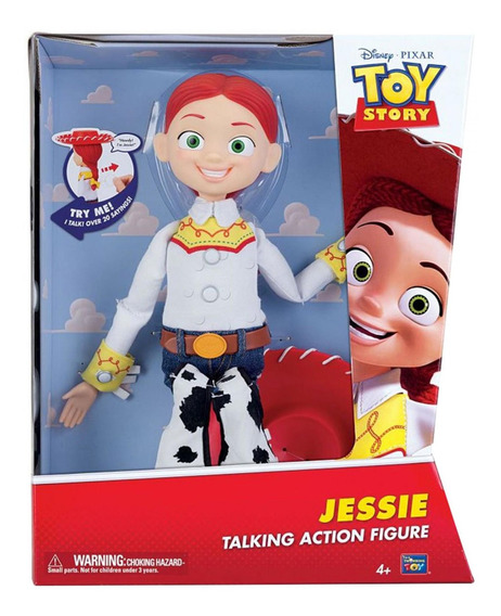 Toy Story - Jessie - Figura De Acción Que Habla