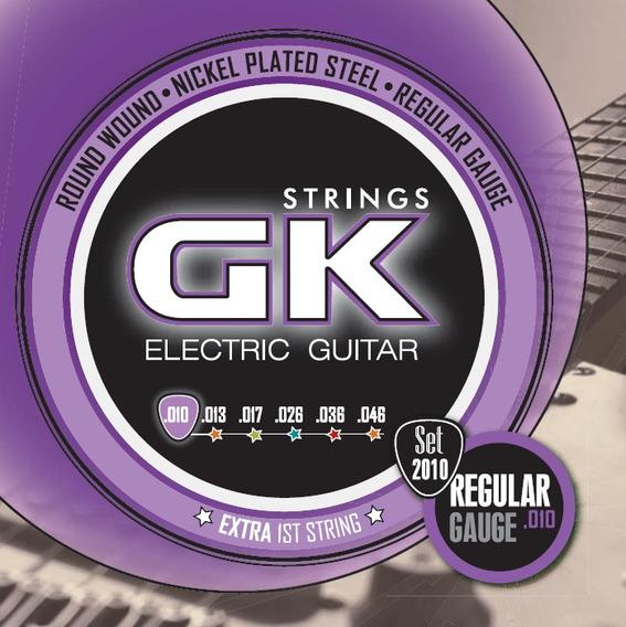 Encordado Para Guitarra Eléctrica Gk 2010 010-046