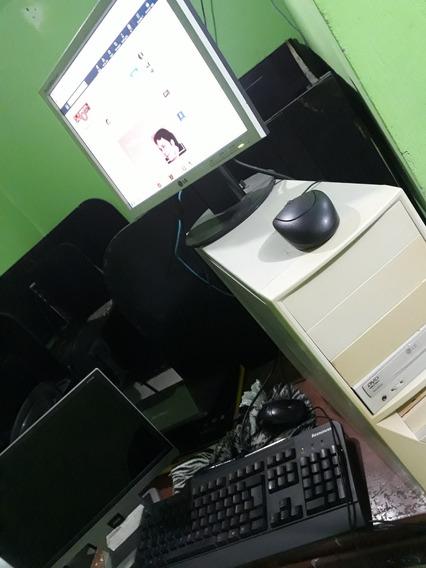 Pc Completo Com, Teclado, Mouse E Monitor