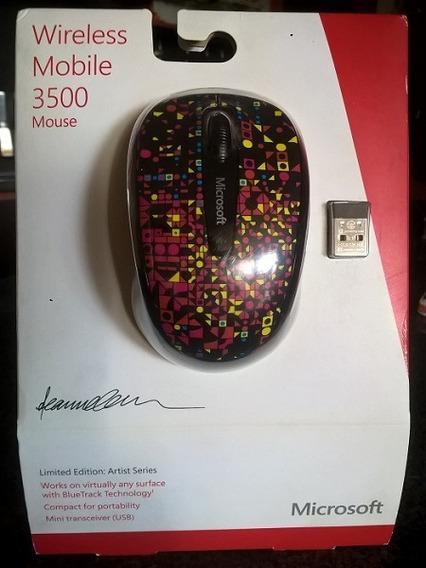 Mause Microsoft Inalambrico 3500 Serie Artista Nuevo