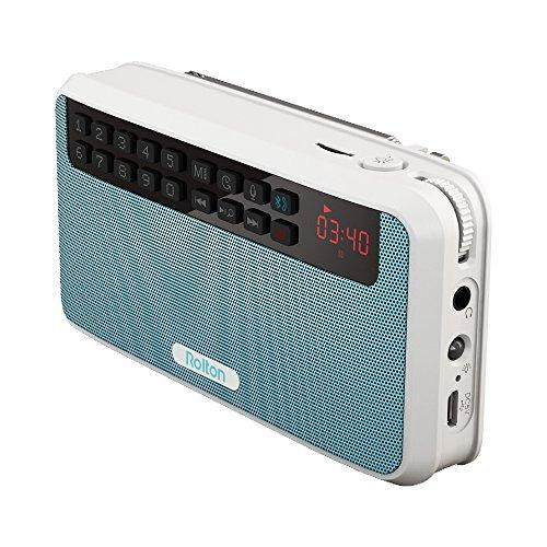 Imagen 1 de 9 de Rolton E500 Altavoces Bluetooth Estéreo Portátil Radio Fm