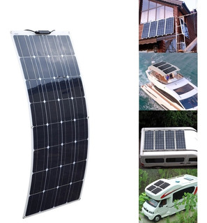 Panel Solar 100w Flexible Casa Rodante Motorhome
