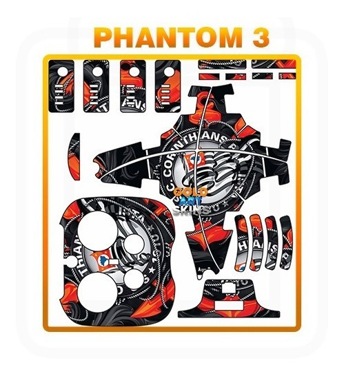 Skin Corinthians Dji Phantom 3 A Pronta Entrega!