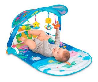 Tapete De Atividades Bebê Musical Luzes Mágicas 860 Winfun