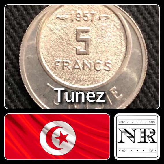 Tunez - 5 Francos - Año 1957 - Km # 277 - Africa