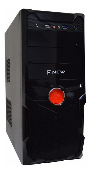 Cpu Nova Dual Core 6gb Hd 500gb Dvd Wifi, Placa De Vídeo 1gb
