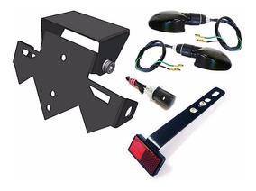Suporte Placa Rabeta Eliminador Cb300r - Cb300 R Completo