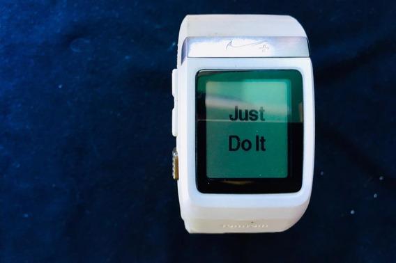 Reloj Nike+ Sportswatch Gps Tomtom Para Carrera Color Blanco