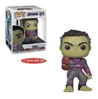 Funko Pop Hulk Con Guantalete Endgame 6 Pulg 100% Original