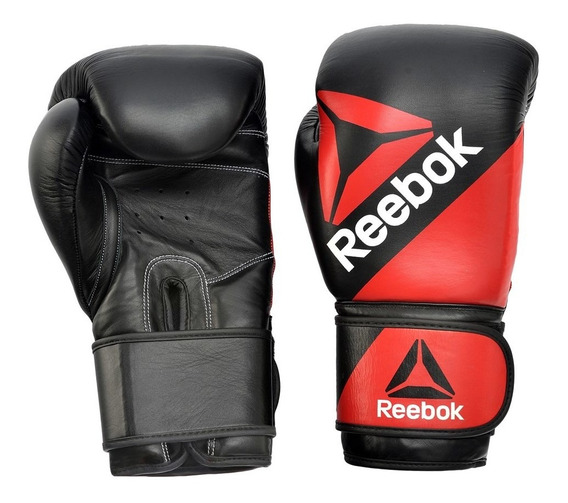 Guantes De Boxeo P/ Entrenamiento 16oz Bolsas Vendas Reebok