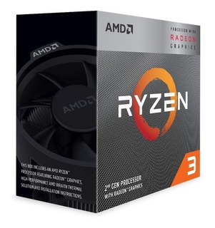 Procesador Amd Ryzen 3 3200g 3.6 Ghz + Radeon Vega