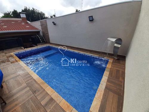 Casa Com 4 Dorms, Vila Santista, Atibaia - R$ 1.3 Mi, Cod: 551 - V551