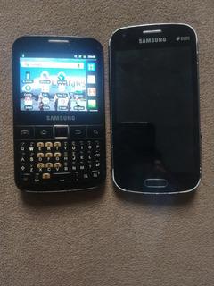 Lote 2 Celulares Samsung Para Aproveitar Peças