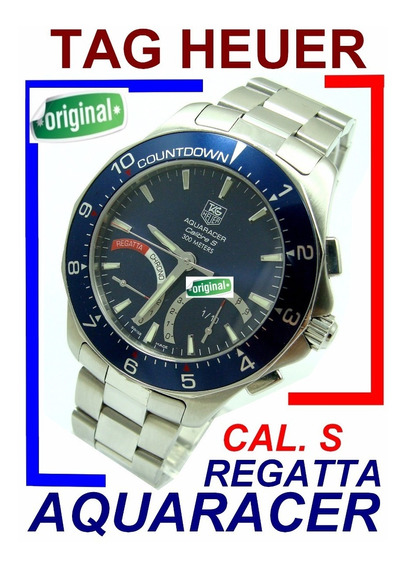 Tag Heuer Regatta - Calibre-s Autêntico Modelo Caf7110 !