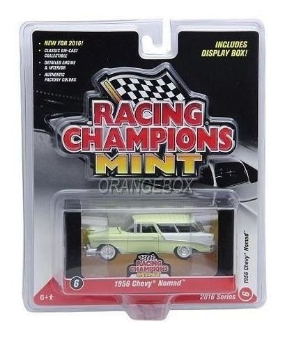 Miniatura Chevy Nomad 1956 - R1 Set A Racing Champions 1:64