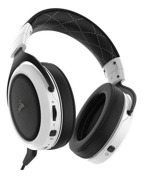 Audifonos Gamer Inalámbrico Hs70 50 Mm Blanco Corsair
