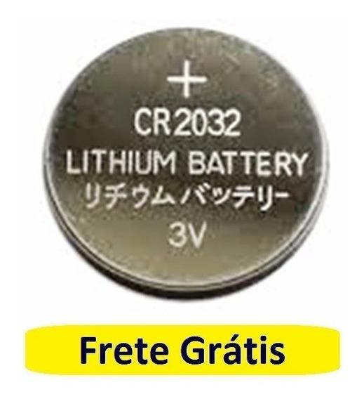 Bateria Cr2032 Pilha Lithium Cmos Setup Frete Grátis