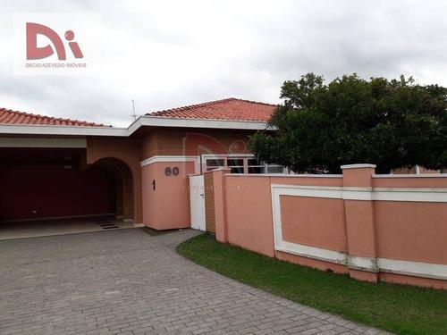 Imagem 1 de 28 de Casa Com 4 Dormitórios À Venda Por R$ 2.300.000,00 - Condominio Vale Do Sol - Tremembé/sp - Ca0074