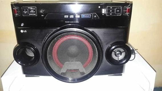 Mini System Lg Om4560 , Bluetooth, Entrada Usb, Cd, Rádio
