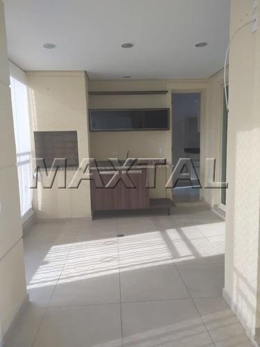 Excelente Apartamento Com Varanda Gourmet Em Santana - Mi83718
