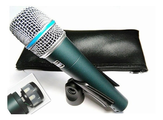 Micrófono De Voz Profesional Kc Modelo Beta57a Con Cable