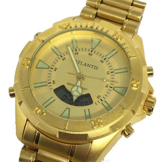 Relógio Masculino Atlantis Analógico Digital A3482 Original