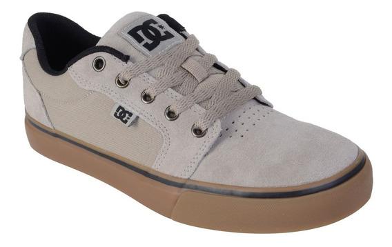 Tênis Dc Shoes Anvil 2 La Bege