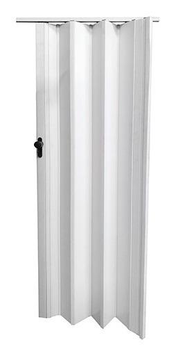 Puerta Plegable De Pvc 203cm X 85cm X 1cm (blanco)