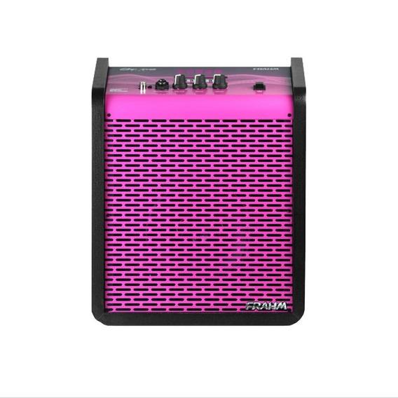 Caixa Amplificada Multi-uso Pink 100w 6 Polegadas Frahm