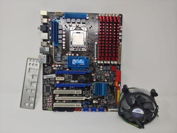 Kit Placa Asus P6t Com Processador Intel I7 920 E Cooler